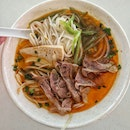 Founded Bun Bo Hue at hawker Centre, affordable and taste good 😋.