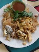 Oyster Omelette Hao Jian