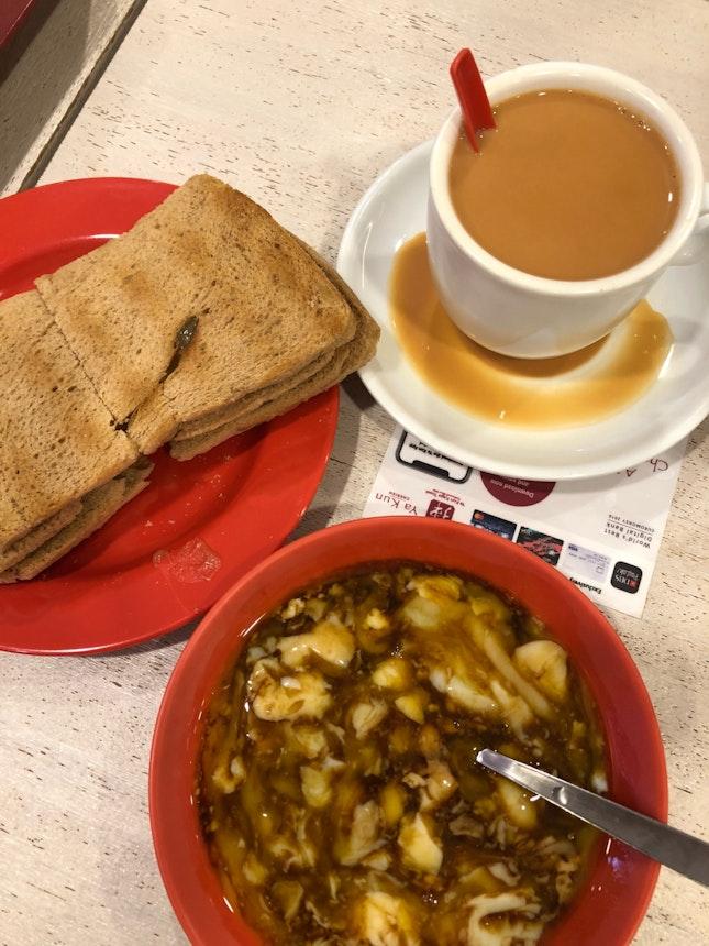 Kaya Toast at Yakun
