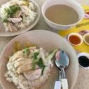 Hainanese Boneless Chicken Rice ($3)