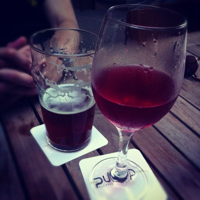 Rose Wine & Indian Ale