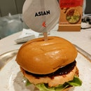 Black Pepper Salmon Burger