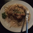 Buttermilk Chicken Chop Pasta