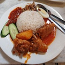 Curry Chicken Nasi Lemak