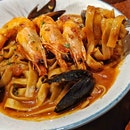 Seafood Pomodoro ($15.90).