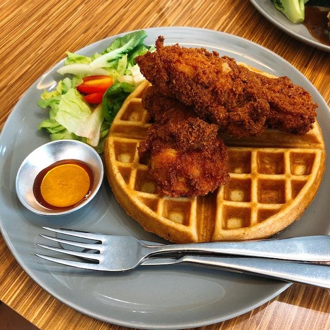 Chicken Waffle ($14)