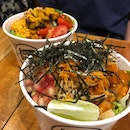 Poke bowls for a healthier change 🥙 with the entertainer app, you can get it 1 for 1 (: #burpple #pokebowl