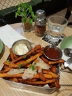 Truffle Sweet Potato Fries ($18)