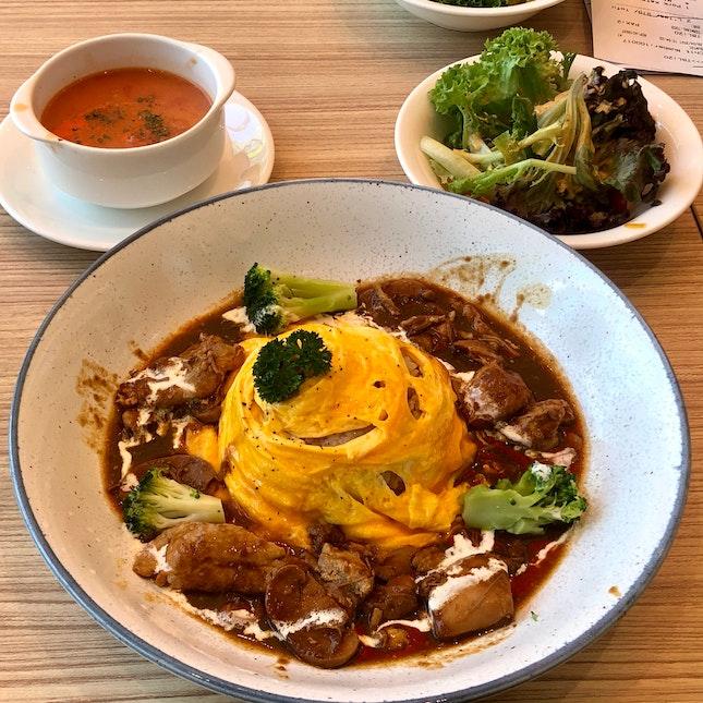 Chicken Stew Omu Rice $9.90++