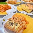 salmon triple flavour ($4.20++)