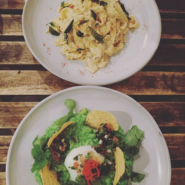 4⭐I loved anything with salted egg yolk and Sarnies's tagliatelle with crab & salted egg yolk sauce makes me satisfied.