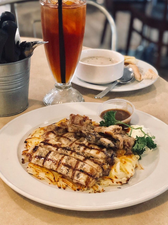 Affordable & Hearty Rosti (& a variety of Western fare)