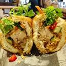 Caramelised 5-Spice Pork Belly Banh Mi ($7.90)