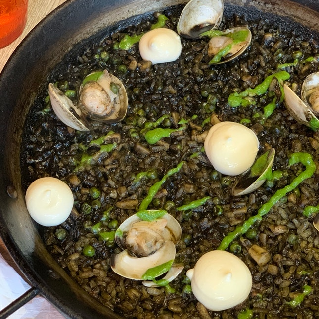 Squid Ink Paella ($26)
