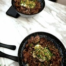 Delicious wagyu beef dons