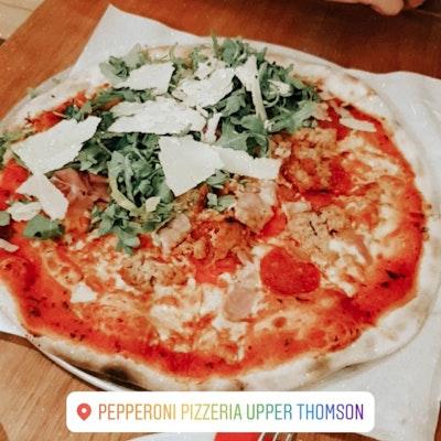 Peperoni Pizzeria Upper Thomson Burpple 76 Reviews Thomson Singapore