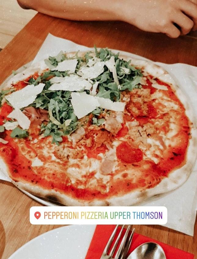 Unique flavoured pizzas