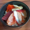 Chirashi Don ($10.80++) 😊+ Unagi Hitsumabushi ($15.80++) 😐+ Nabeyaki Udon ($11.80++)