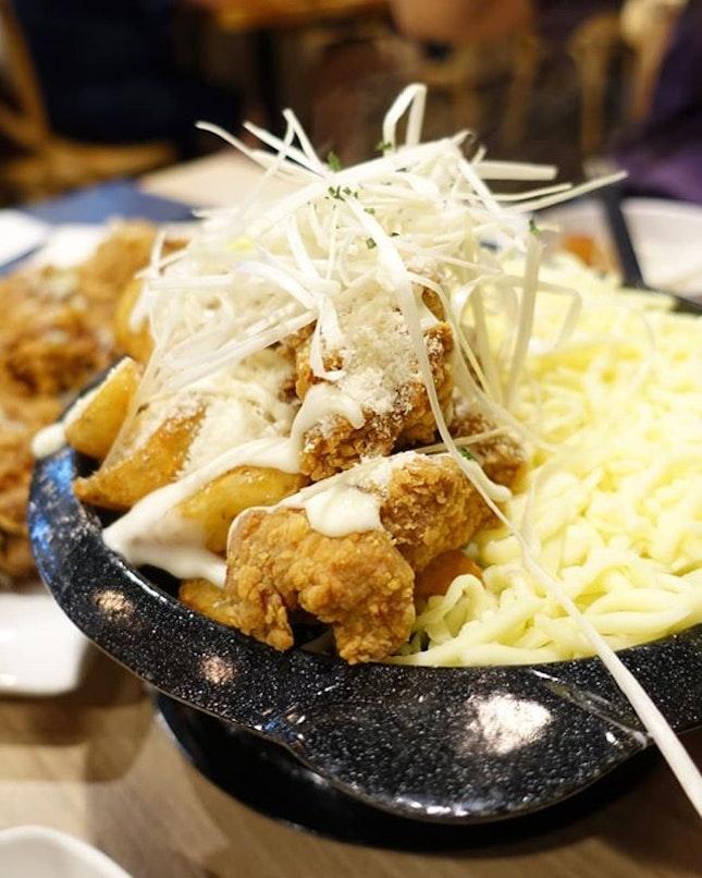 Snow cheese chicken 😋