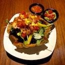 Grilled Prawn Salad