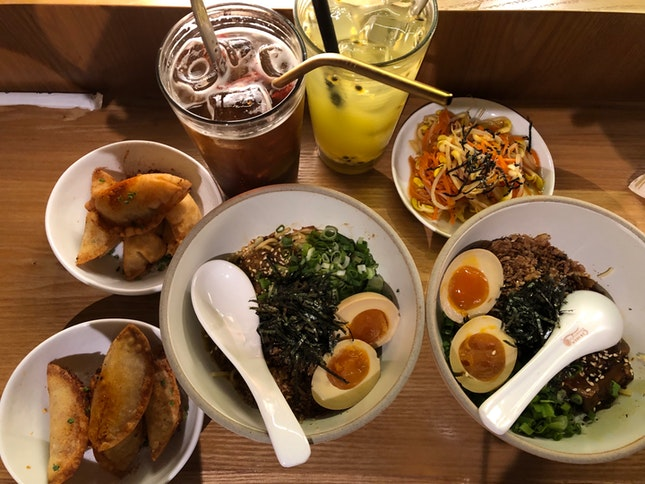 Lunch set $16++