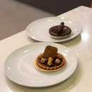 Chocolate Peanut Butter Tart, Chocolate Speculoos Tart $5.5 each