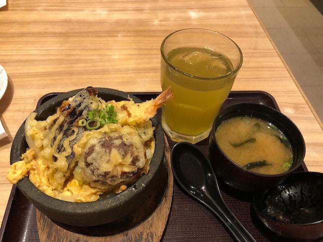 Ishiyaki Tendon (off peak menu) $5.9++