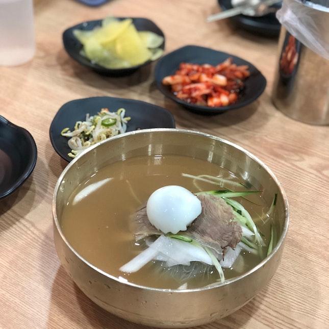 Mul Naengmyeon $15.8+