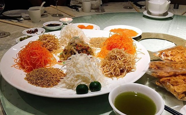 Last yu sheng for this CNY.