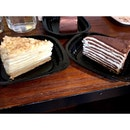 Russian cake bake sale by @bkosfood happening at @airshipmonniker now!!