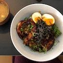 Chashu Rice Bowl ($18)