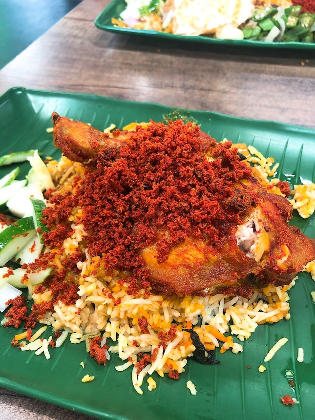 Fried Chicken Briyani