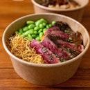 Black Pepper Wagyu Striploin Rice Bowl