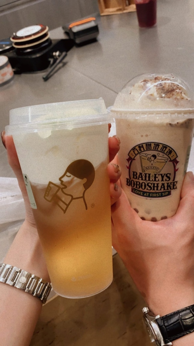 overpriced bubble tea
