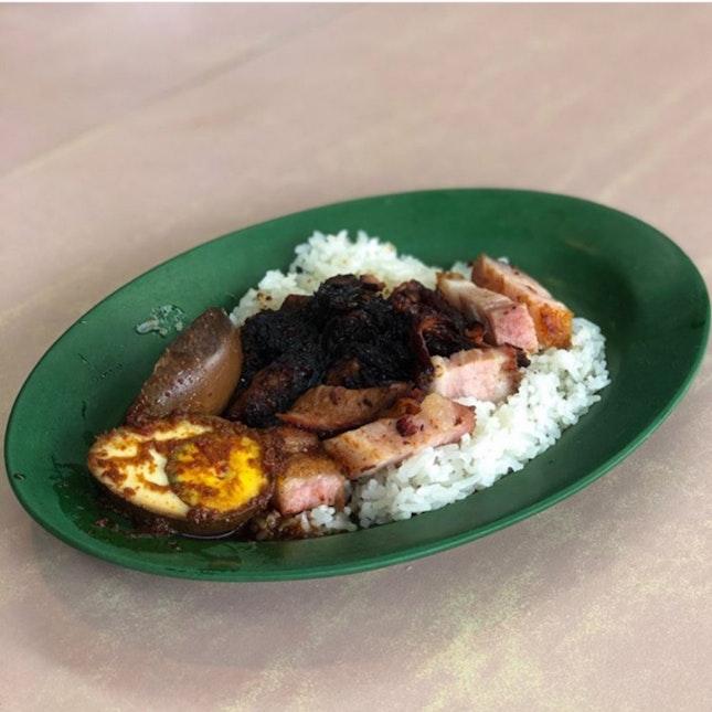 Amazing Char siew Rice