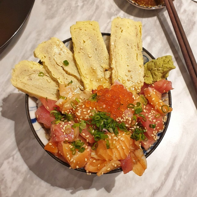 Delicious Chirashi at affordable prices