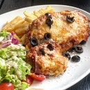 Chicken Parmigiana ($26)