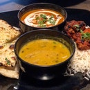 Chicken Tandoori And Naan Lunch Set ($12)