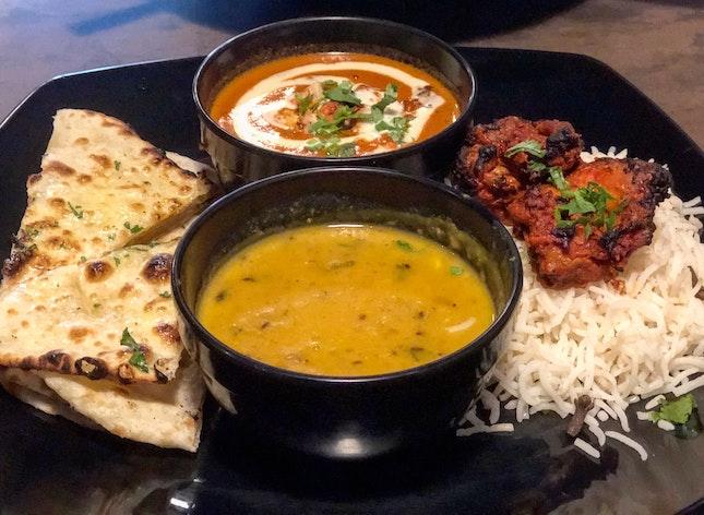 Chicken Tandoori And Naan Lunch Set ($12)