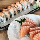 Salmon Aburi Roll ($16.90)