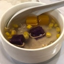 Yam Paste With Sweet Potato, Corn And Pumpkin Cubes ($5)
