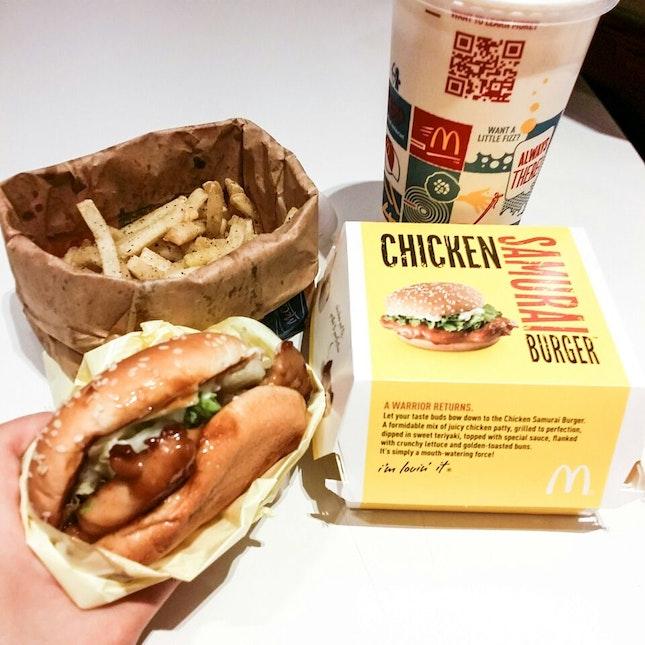 Chicken Samurai Burger