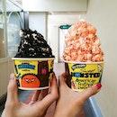 Popcorn Soft Serve Ice Cream