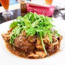 Portobello with Grilled Chicken