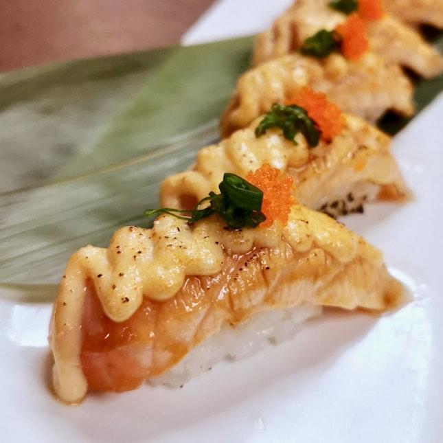 Aburi Shake Mentai Sushi