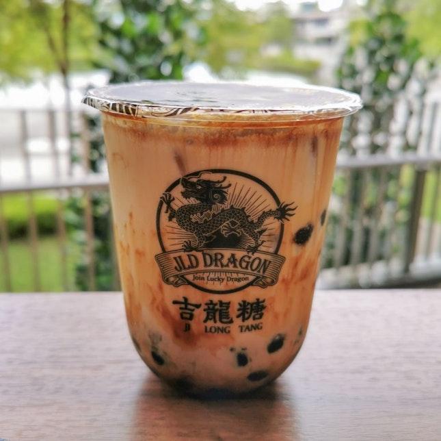 Brown Sugar Milk with Tapioca Boba
