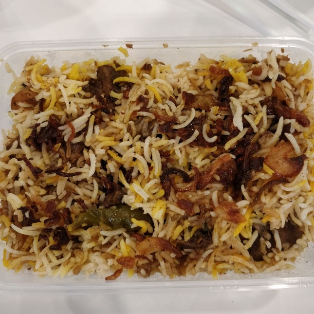 Awesome Takeaway - Mutton Biryani 😋