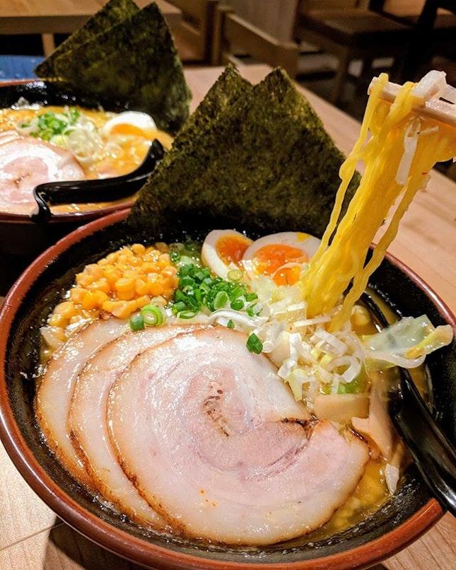 Miso Ramen ($15~)