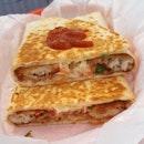 Fish quesadilla ($12) 🌮 8/10