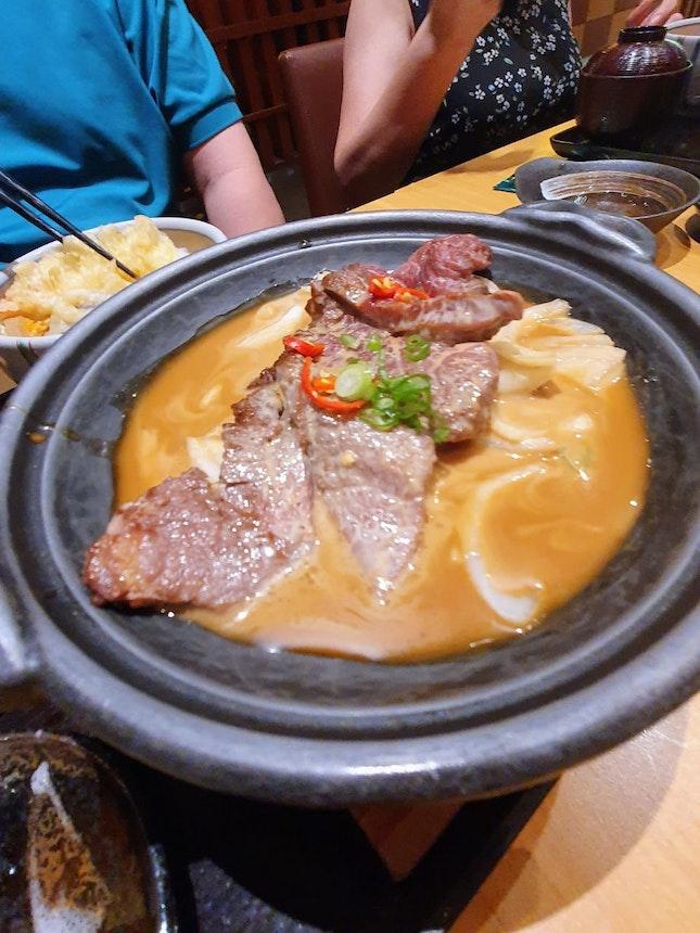 Beef steak set (~$30)